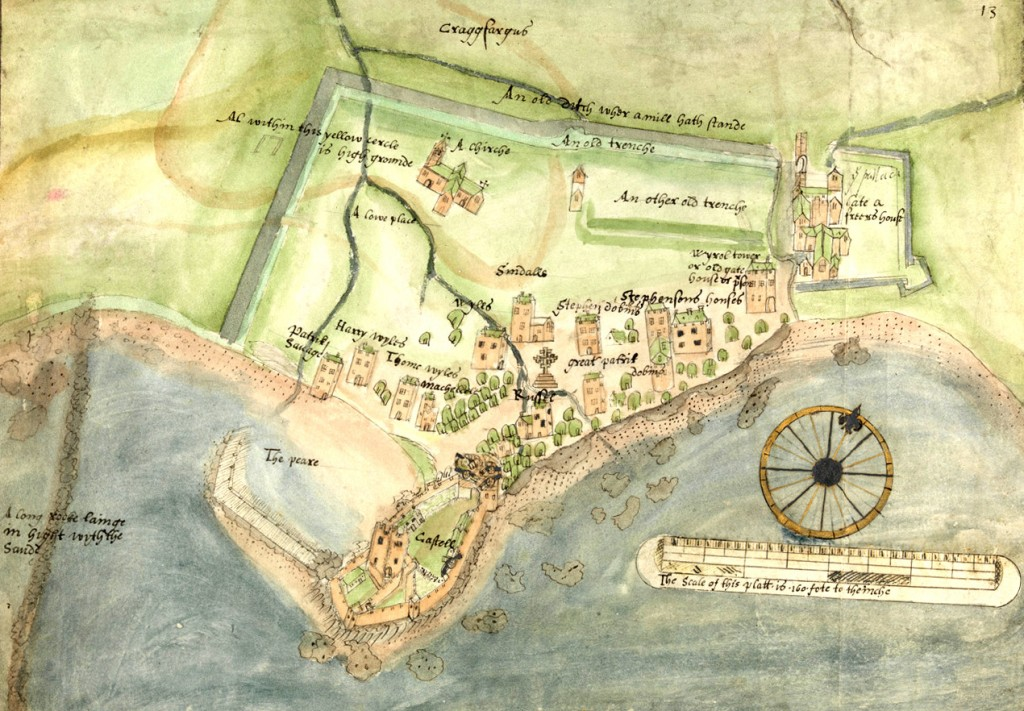 Carrickfergus Map 1567