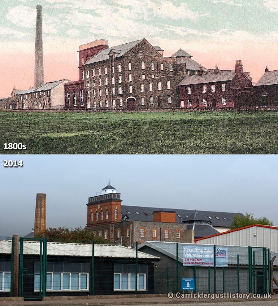 Barn Mills Then and Now