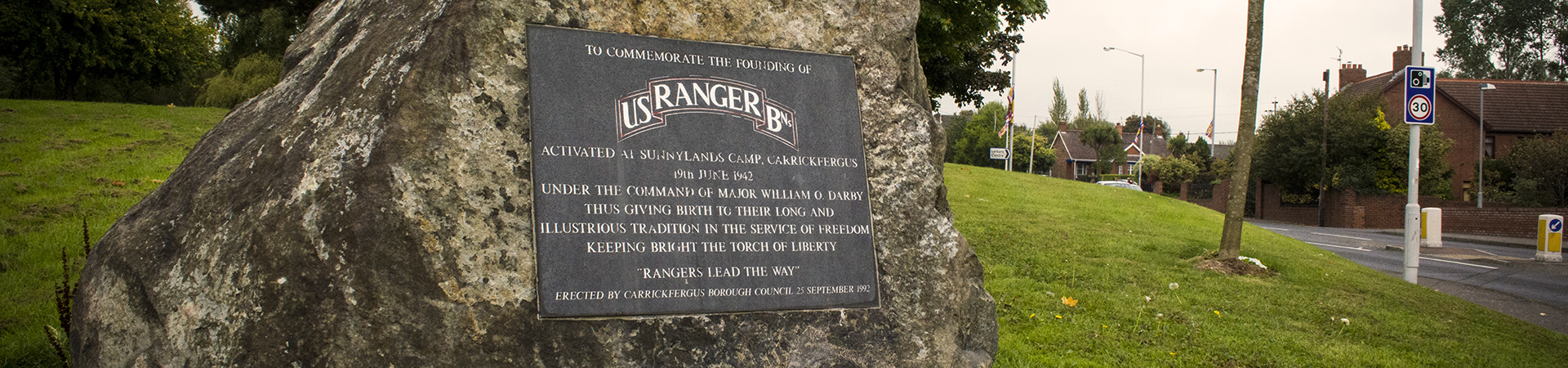 Rangers Memorial, Carrickfergus
