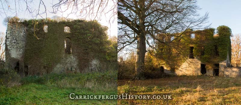 Carrickfergus History - Kilroot House/Bishop's House/Bishop's Palace